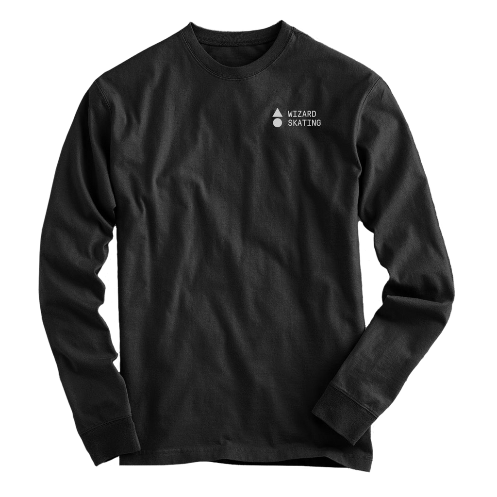 Wizard Skating Long Sleeve - Black