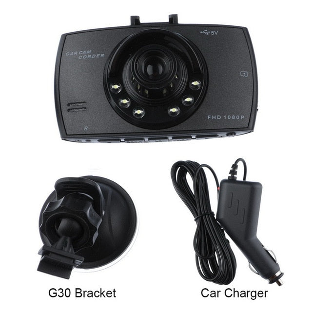 2.2 Inch Car Hd 1080P Driving Recorder Camera 90 Degree Wide-Angle Lens Video Recorder