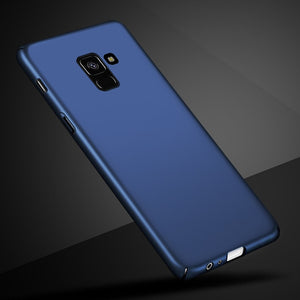 For Samsung Galaxy A8 2018 Case Ultra Thin Hard PC Full Back Cover Matte Cases For Phone Case Samsung Galaxy A8 2018 A530 Coque