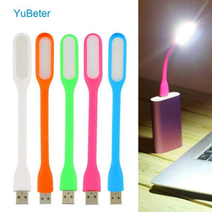 YuBeter Portable USB Light Flexible USB LED Lights Table Lamp Gadgets USB Hand Lamp For Power Bank Computer Notebook  Laptop