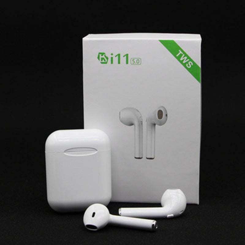i11 tws airpots Bluetooth earphones wireless headphone Stereo earbuds with mic Sport Headset PK AP2 i10 i100 i200 tws for iphone