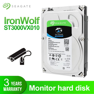 "Seagate 4TB 3.5"" Video Surveillance HDD Internal Hard Disk Drive 5900 RPM SATA 6Gb/s 64MB Cache HDD For Security ST4000VX007"