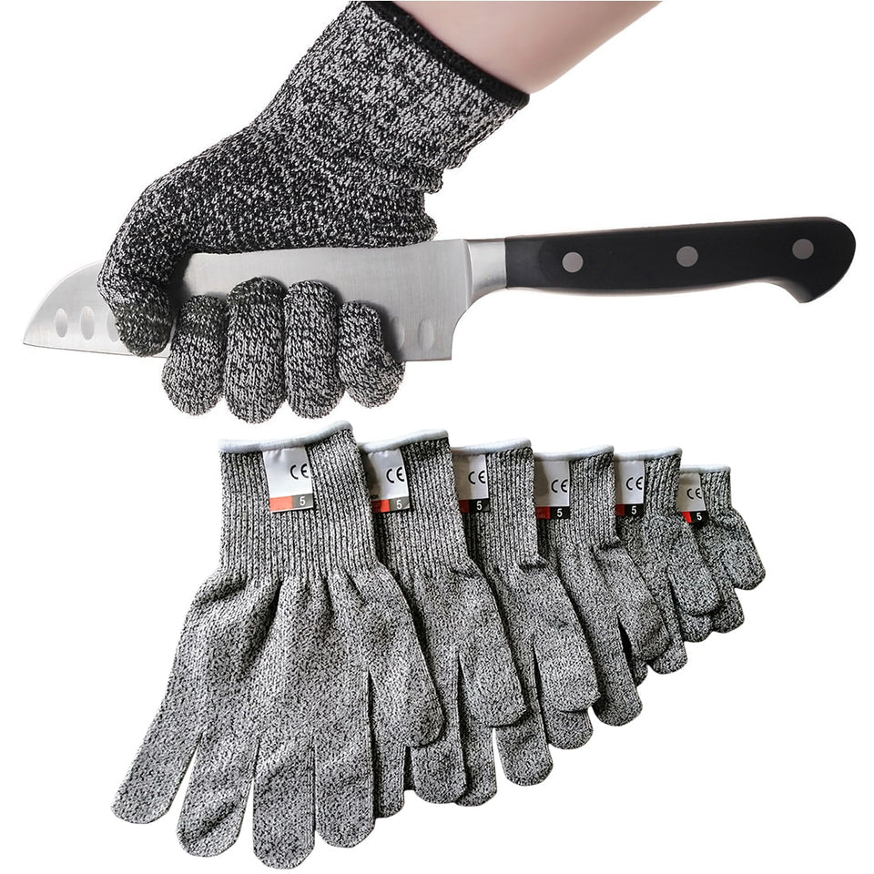 Hot Super Tools HPPE Cut Resistant Gloves Level 5 Protection High Performance Multifunctional Household Garden Gloves S-XL Tool
