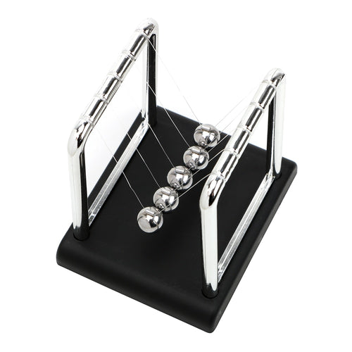 Newton's Cradle Steel Balance Ball Metal Pendulum Ball Newton Ball Desk Table Decor Physics Science Pendulum