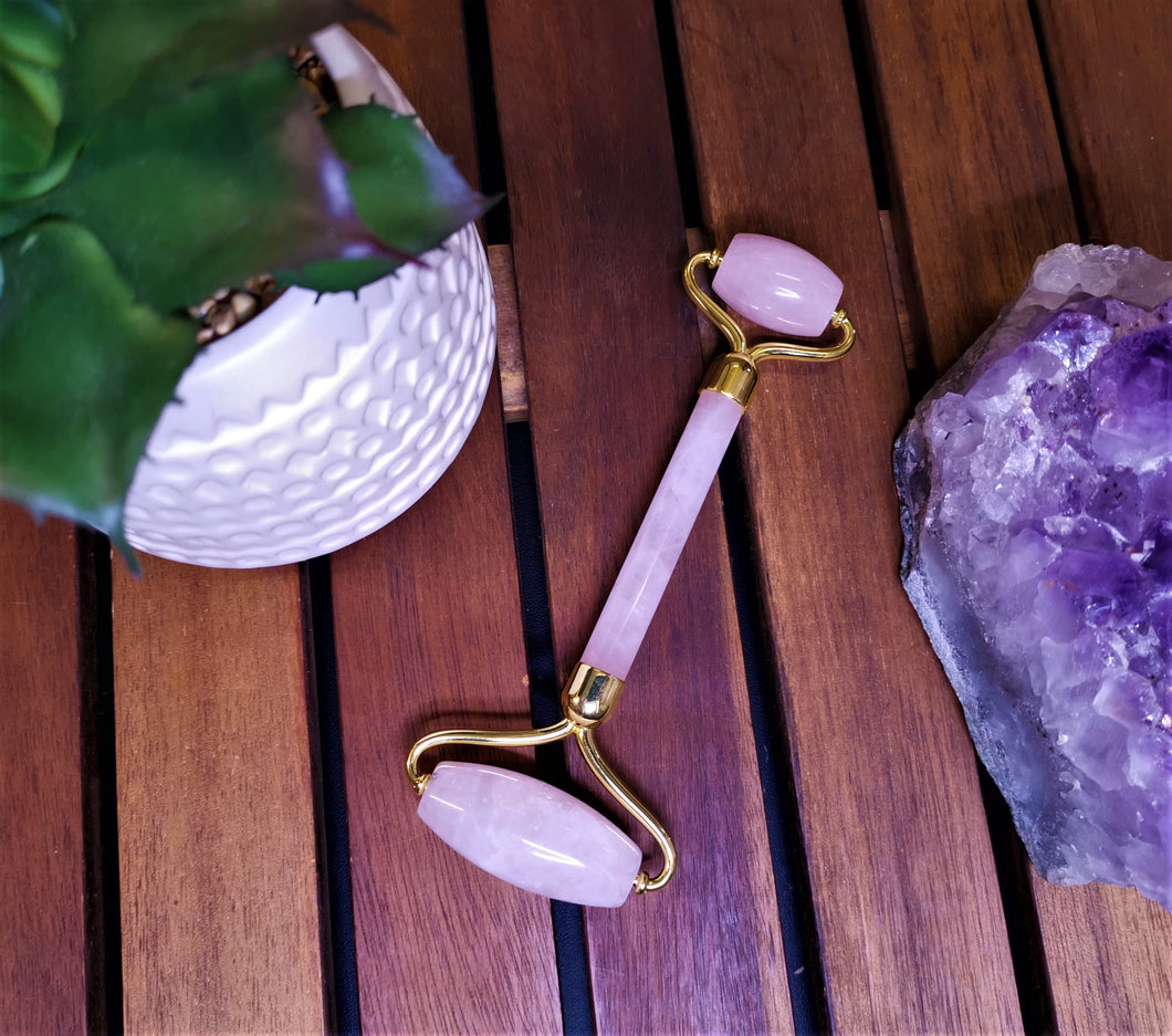 Crystal Roller - Rose Quartz