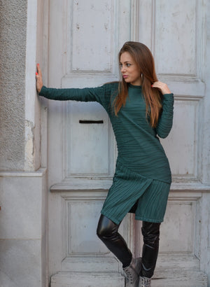 Рокля WOMEN GREEN DRESS