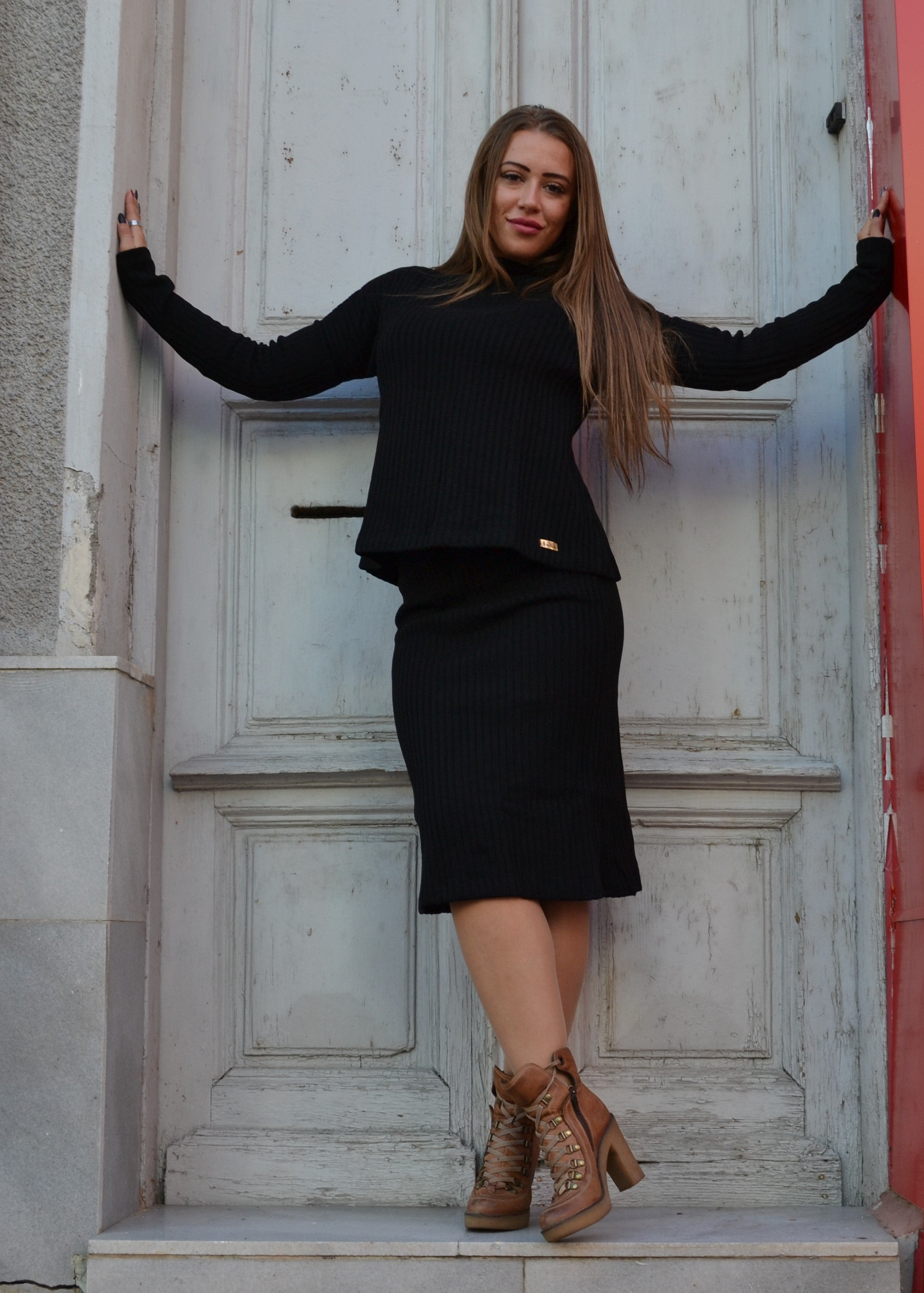 Комплект WOMEN BLACK SKIRT