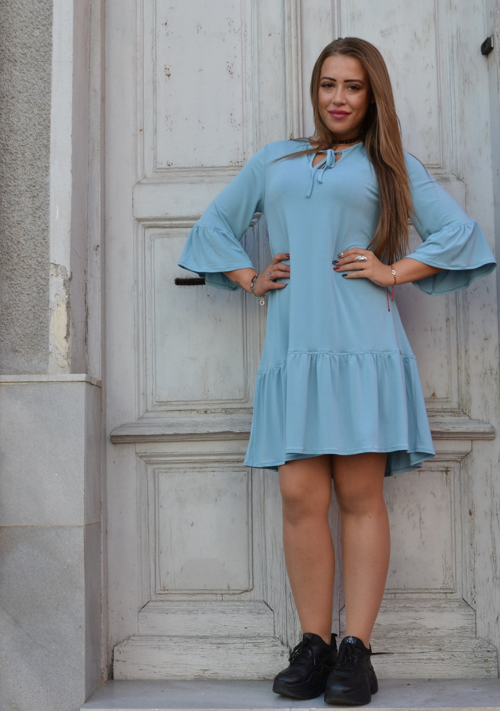 Рокля LADY BLUE DRESS