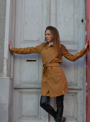 Манто WOMEN SHINY COAT