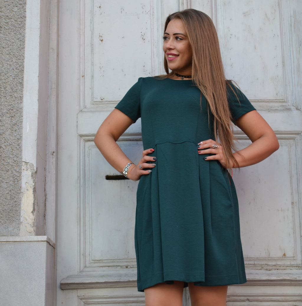 Рокля LADY GREEN DRESS