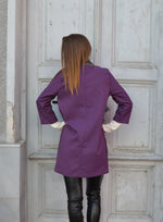 Дамско манто WOMEN PURPLE COAT