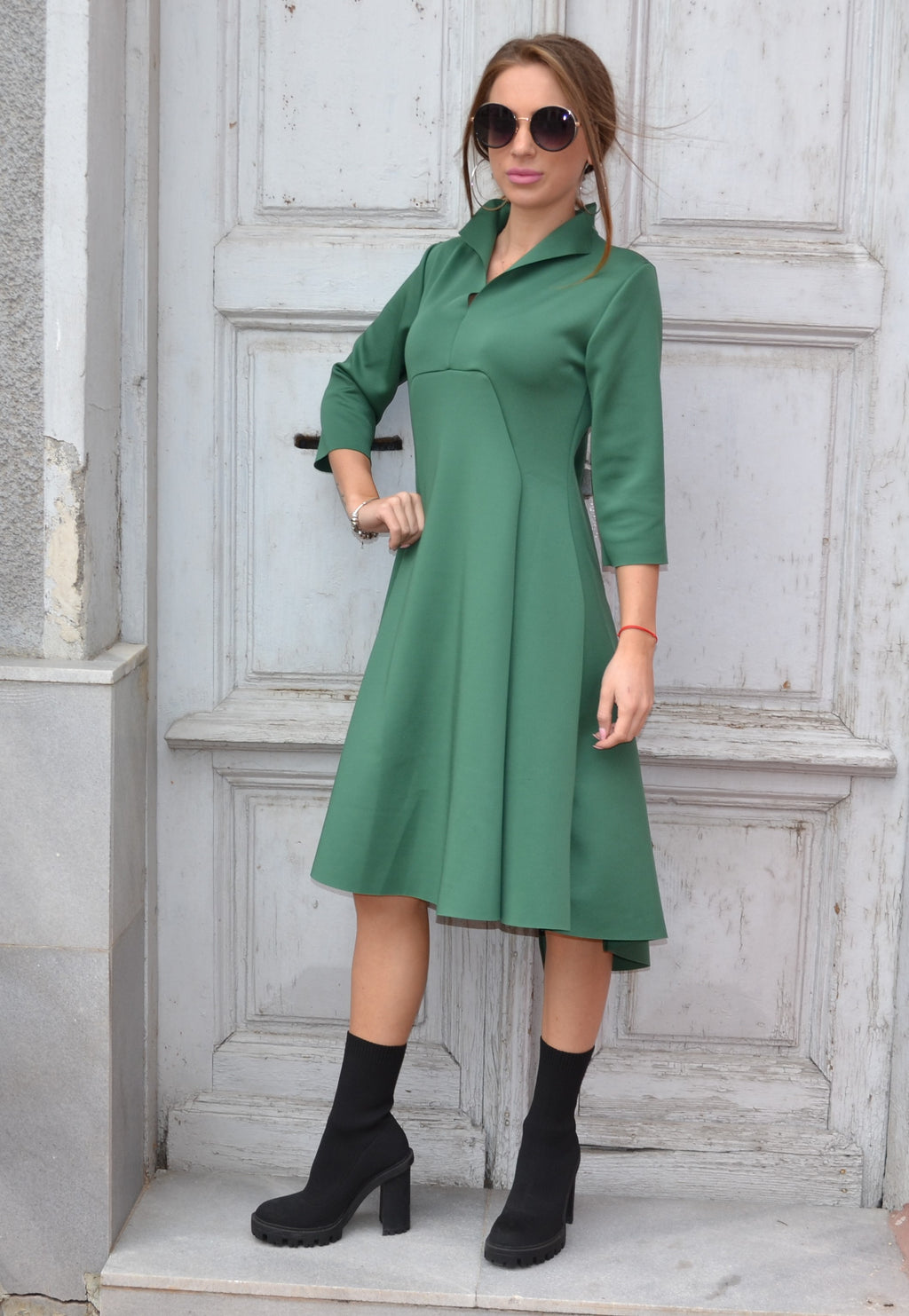 Рокля LONG CLASSIC DRESS