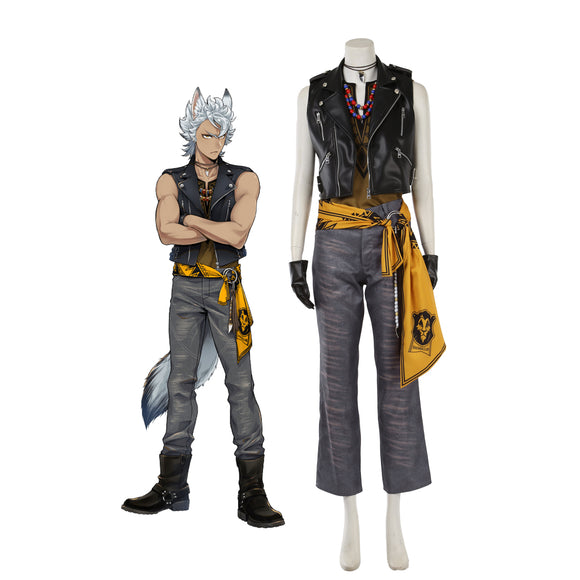 Disney Twisted-Wonderland Savanaclaw Jack Howl Cosplay Costume