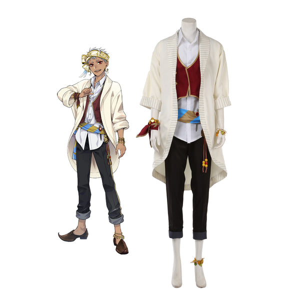Disney Twisted-Wonderland Scarabia Kalim・Al-Asim Cosplay Costume
