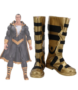 DC Black Adam Teth-Adam Cosplay Boots Custom Made Shoes for Unisex Halloween Party Cosplay Costume Accessories