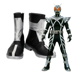 Kamen Rider Cosplay Boots Customized Leather Shoes for Boys and Girls Masked Rider Cosplay Shoes