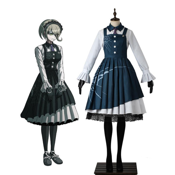Danganronpa V3: Killing Harmony Kirumi Tojo Dress Cosplay Costume Custom Made