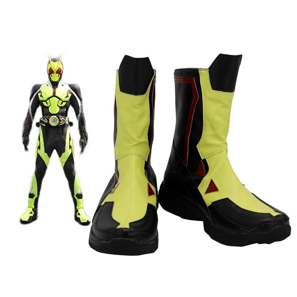 Kamen Rider Zero-one Cosplay Boots Leather Shoes Masked Rider Zero-one Shoes Custom Made for Unisex