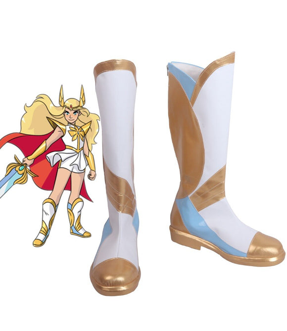 She-Ra and the Princesses of Power She-Ra Cosplay Boots Adora Shoes Custom Made for Unisex Halloween Party Cosplay