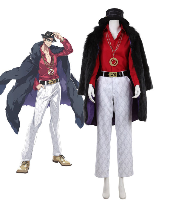 Hypnosis Mic Division Rap Battle Rei Amayado MC MasterMind Cosplay Costume Custom Made