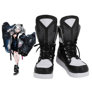 Arknights FEater Cosplay Boots Black Shoes Custom Made Any Size