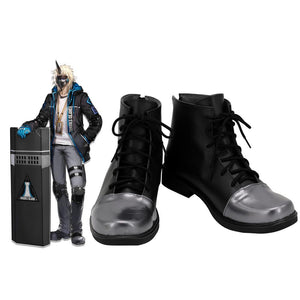 Arknights Noir Corne Cosplay Boots Black Shoes Custom Made Any Size