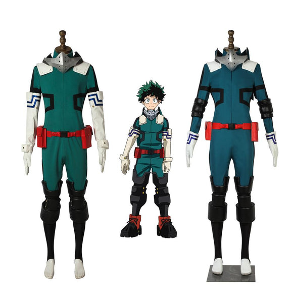 Boku No Hero Academia Izuku Midoriya Hero Cosplay Costume My Hero Academia Izuku Hero Unifrom Cosplay