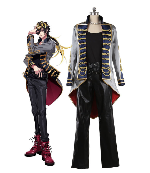 Hypnosis Mic Division Rap Battle Jyushi Aimono 14th Moon Cosplay Costume Custom Made