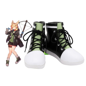 Game Arknights Kroos Cosplay Boots Leather Shoes Custom Made