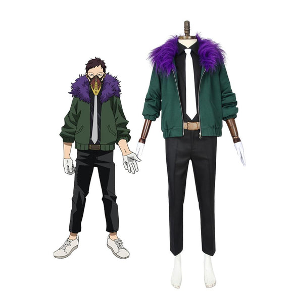 My Hero Academia Kai Chisaki Cosplay Costume Boku no Hero Academia Overhaul Cosplay Full Set Custom Made