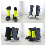 Arknights Shaw Cosplay Costume Shaw Coat Pants Boots Full Set Cosplay Custom Made