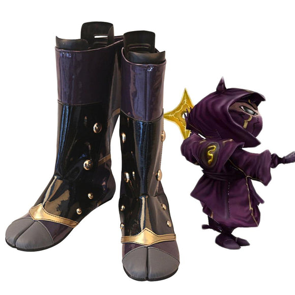 League of Legends LOL the Heart of the Tempest Kennen Cosplay Boots Leather Shoes Custom Made Any Size