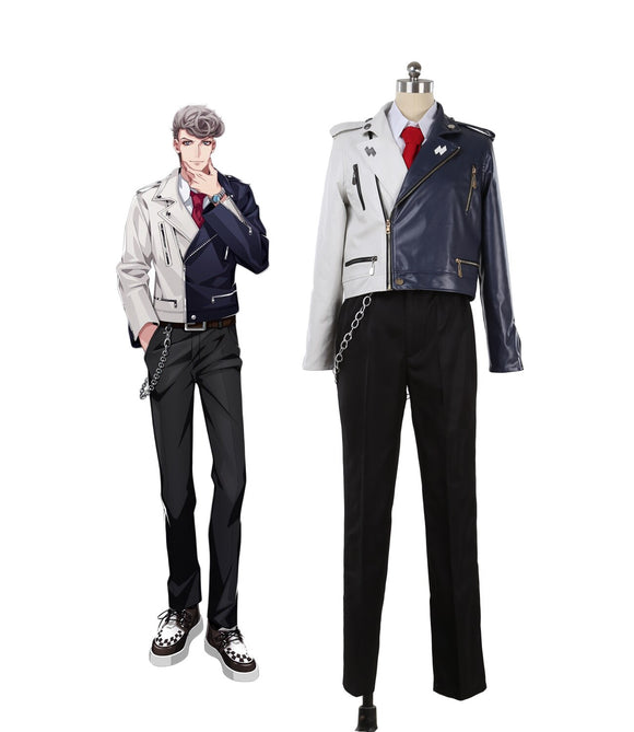 Hypnosis Mic Division Rap Battle Hitoya Amaguni Heaven & Hell Cosplay Costume Custom Made