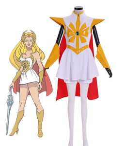 She-Ra and Princess of Power Adora Cosplay Costume She-Ra Dress Full Set Custom Made