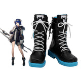 Arknights Mostima Cosplay Boots Black Shoes Custom Made Any Size