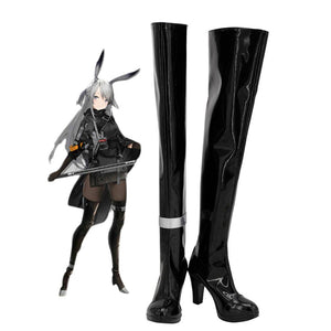 Arknights Savage Cosplay Boots Over Knee High Heel Shoes Custom Made