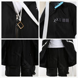Arknights Caster 12F Cosplay Costume Coat Pants Full Set Custom Made