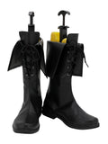Final Fantasy 14 Thancred Waters Cosplay Boots Black Shoes Custom Made