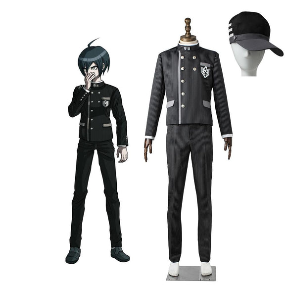 Danganronpa V3: Killing Harmony Shuichi Saihara Cosplay Costume Custom Made
