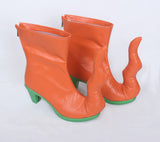 Fate Grand Order FGO Elizabeth Bathory Cosplay Boots Orange Shoes Custom Made