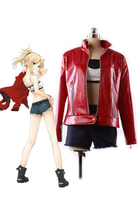 Fate Apocrypha Mordred Leather Cosplay Costume Custom Made