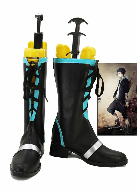 K Return of Kings Yata Misaki Cosplay Boots Leather Shoes Custom Made
