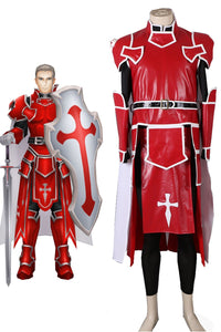Sword Art Online SAO Knights of the Blood Heathcliff Cosplay Costume Custom Made