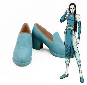 Hunter x Hunter Illumi Zoldyck Irumi Zorudikku Cosplay Shoes Boots Custom Made