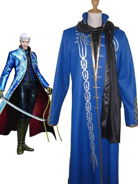 Devil May Cry3 Verigl Cosplay Costume Custom Made