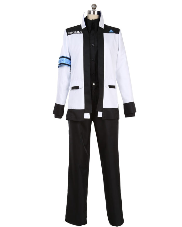 Detroit: Become Human Connor RK900 Cosplay Costume Custom Made