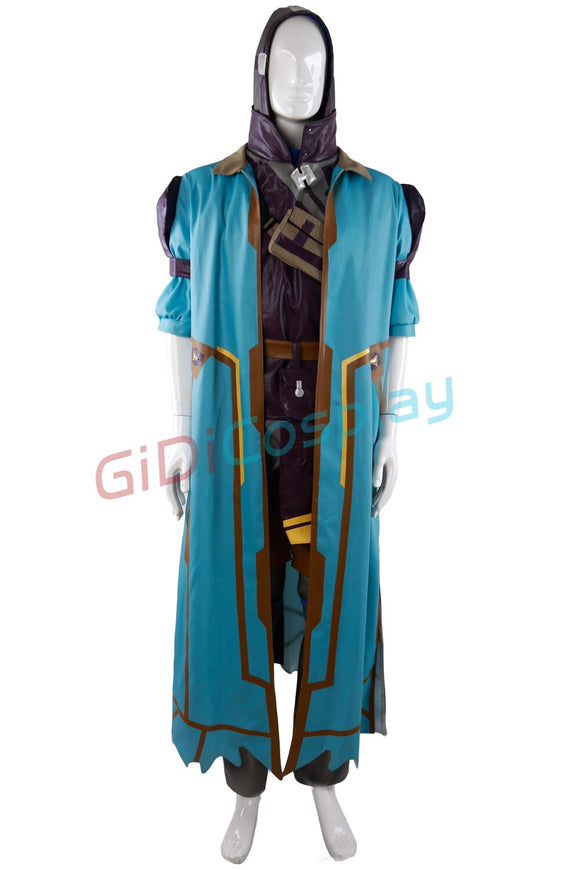 Overwatch OW Ghoul Ana Cosplay Costume Custom Made Any Size