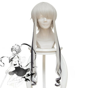 Land of the Lustrous Ghost Quartz Cosplay Wig Sliver Hair