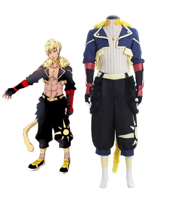 RWBY Team SSSN Leader Sun Wukong Cosplay Costume Custom Made Full Set Any Size