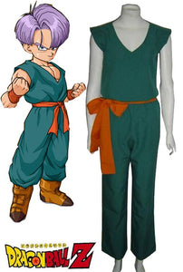 Dragon Ball Z Trunks Kid Cosplay Costume Custom Made